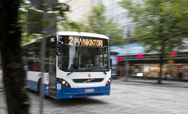 Esimerkiksi Tampereella mielenilmaus vaikuttaa bussiliikenteeseen.
