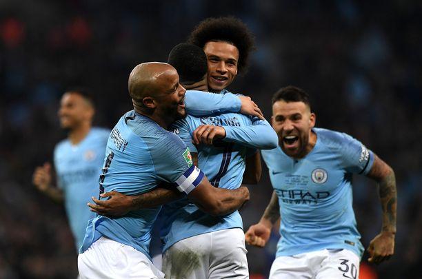 Manchester City on löytänyt vakuuttavan vireen Valioliigassa.