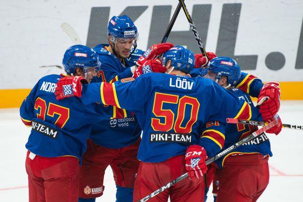 Jokerit jatkoi voittokulkuaan KHL:ssä.