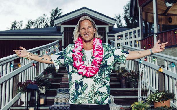 Sami Kuronen ilmestyi yllättäen Vain elämää -lavalle.