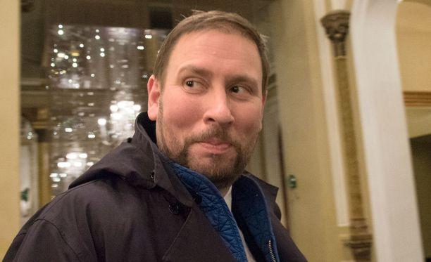 Paavo Arhinmäki täyttää joulukuussa 40 vuotta.