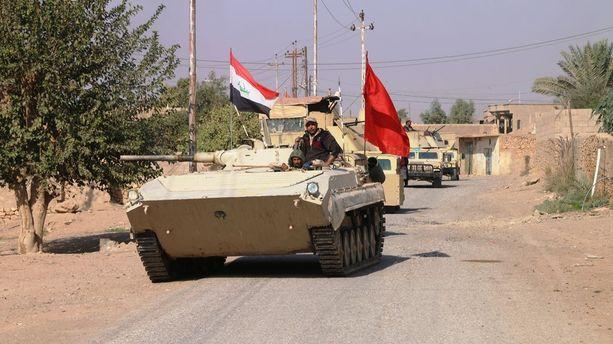 Irakin armeija kävi marraskuun puolivälissä taisteluita Syyrian rajan lähistöllä Isisin viimeisissä tukikohdissa.