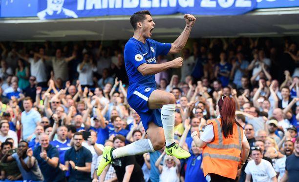 Alvaro Morata on aloittanut ruudikkaasti Chelseassa.