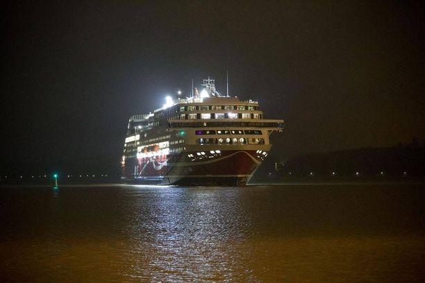 Viking Linen uusin alus Viking Grace valmistui vuonna 2012.