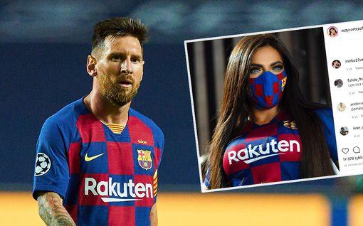 """Lionel Messin kuuluisalta fanilta täyslaidallinen Barcelonalle – """"Ilman Messiä emme olisi päässeet edes Eurooppa-liigaan"""""""