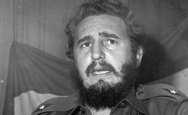 Castro oli ylpeä tuuheasta parrastaan.