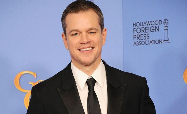 Hän on Matt Damon.