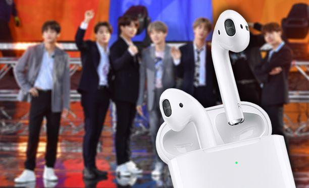 BTS-yhtyeen jäsen RM kertoo hukanneensa uskomattoman monet kuulokkeet.