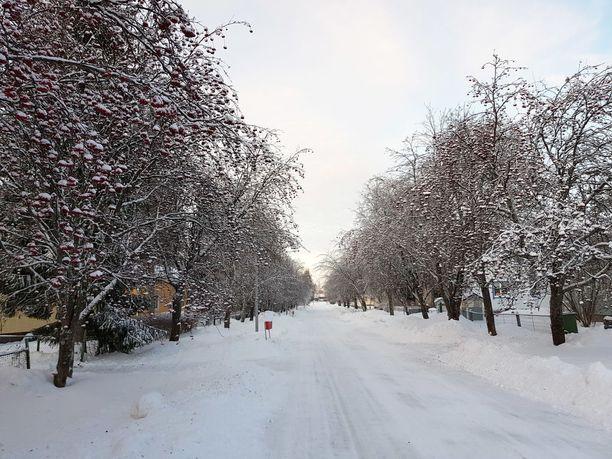 Oulussa jouluaatto oli varsin kaunis.