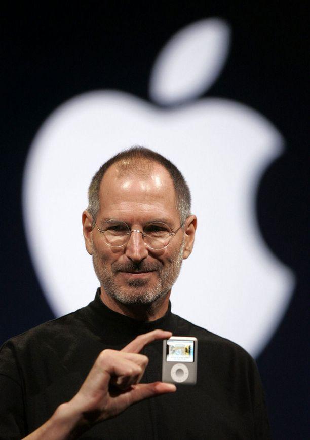 Apple henkilöityi Steve Jobsiin.