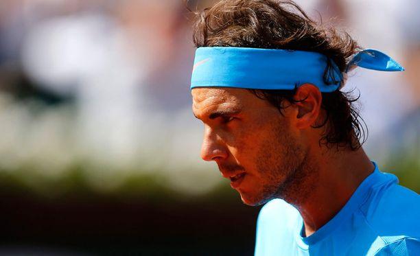 Rafael Nadal jahtaa kymmenettä Ranskan avointen voittoa.