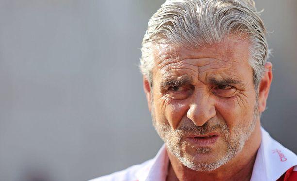 Belgian GP:n tulosliuska ei antanut Maurizio Arrivabenelle syytä hymyyn.