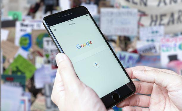 Google on ryhtynyt toimiin ilmastonmuutoksen hidastamiseksi.