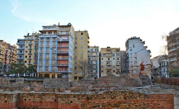 Miehen Thessalonikissa sijaitseva asunto tutkittiin läpikotaisin.