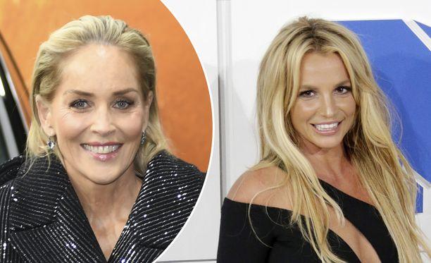 Sharon Stone ei kyennyt omien ongelmiensa vuoksi auttamaan Britney Spearsia.