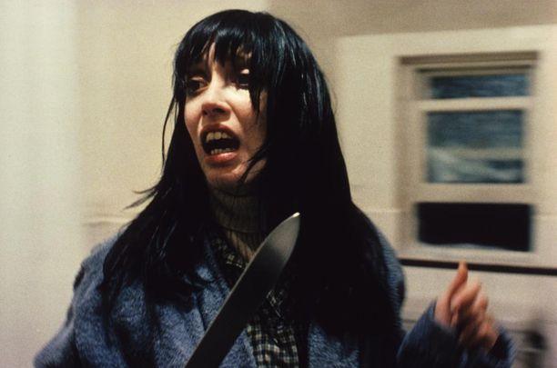 Shelley Duvall muistetaan parhaiten roolistaan Hohto-elokuvassa.
