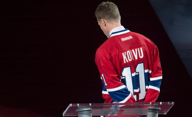 Saku Koivua kunnioitettiin Montrealissa viime yönä.