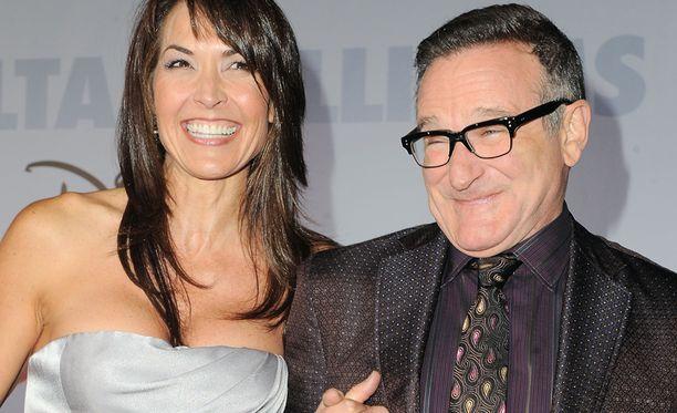 Leski Susan Schneiderin mukaan Robin Williams kärsi Parkinsonin taudista.