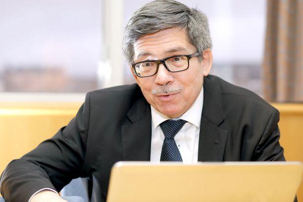 Arctechin toimitusjohtaja Esko Mustamäki sanoo, että telakan rahoitusongelmat johtuvat Venäjään kohdistetuista talouspakotteista.