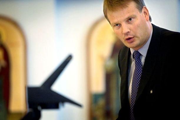 Hannu Takkulalta palaa tänä vuonna vähemmän rahaa kampanjointiin kuin edelliskerralla.