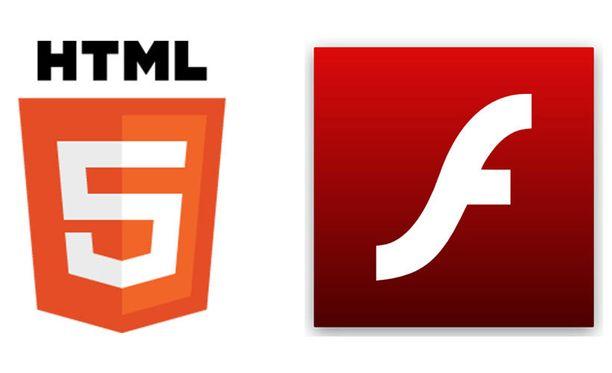 HTML5-standardi on korvaamassa vanhaa Flashia internetin videoiden ja interaktiivisen sisällön toistamisessa.