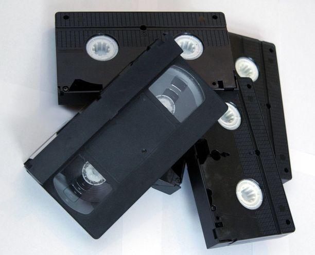Harvinaiset VHS-kasetit ovat keräilytavaraa, josta maksetaan korkeita summia.