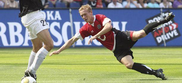 Mikael Forsell ei ole pystynyt pelaamaan jalkapalloa tämän 15.8. pelatun Mainz-ottelun jälkeen.