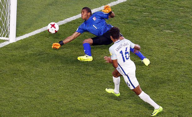 Everton-lupaus Dominic Calvert-Lewin iski maailmanmestaruusmaalin.