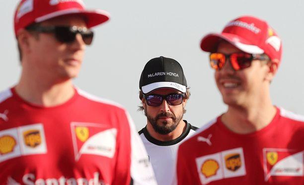 Fernando Alonso on joutunut Kimi Räikkösen varjoon.