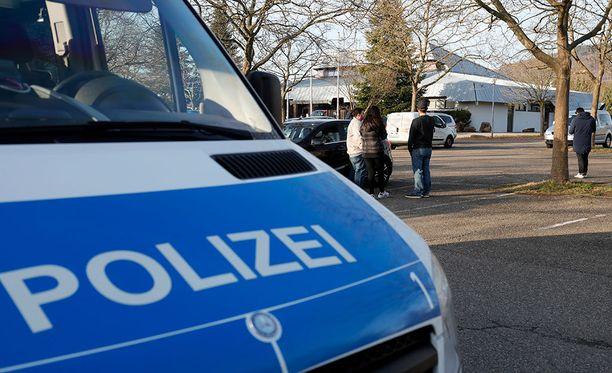 Saksan poliisi kertoi uhkauksesta keskiviikkoaamuna. Arkistokuva.
