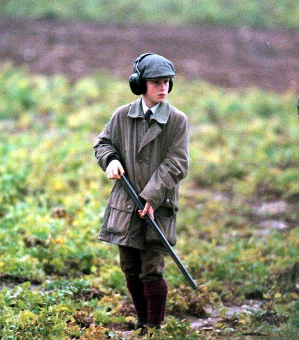 Metsästys on kuulunut prinssi Harryn elämään pienestä pitäen.