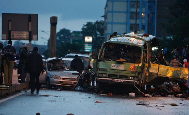 Jälleen uusi terrori-isku on järkyttänyt Keniassa.