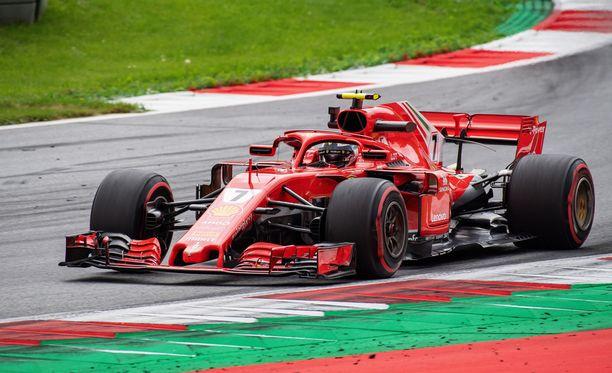 Kimi Räikkönen ajoi mainion kisan Itävallassa.