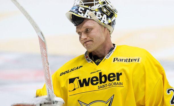 Jussi Markkanen torjui helpon voiton SaiPalle.