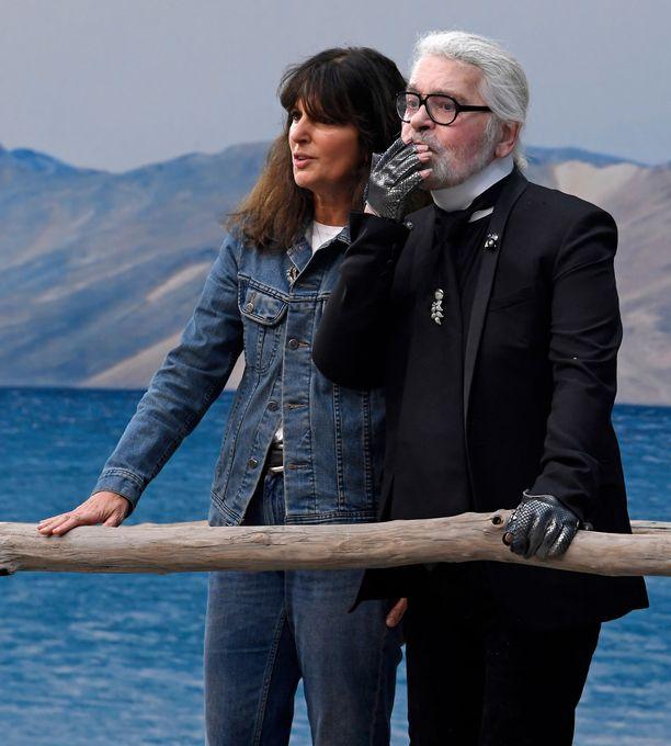 Karl Lagerfeld ja Virginie Viard