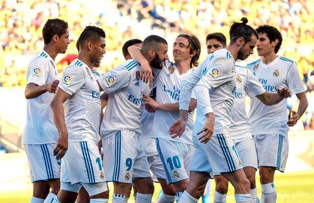 Real haki huonollakin pelillä helpon voiton Gran Canarialta.
