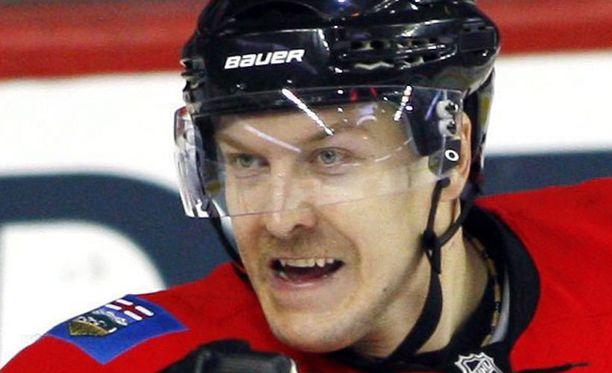 Niklas Hagman on värkännyt tällä kaudella kuusi häkkiä 21 ottelussa.