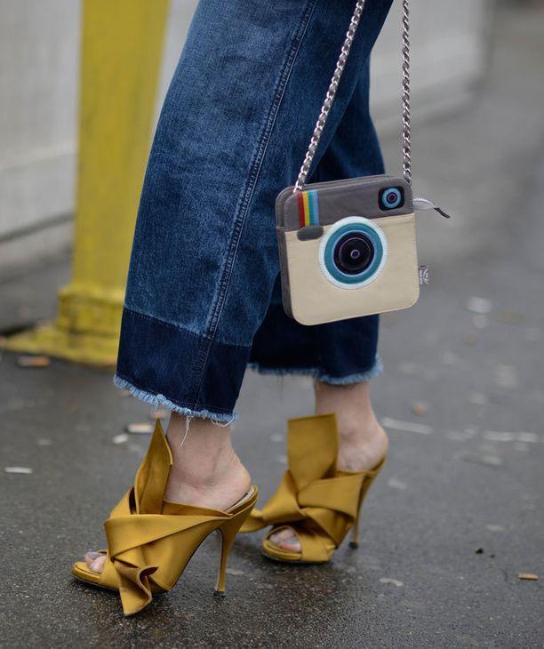 Tämän laukun omistajan lienee löytävän Instagramista.