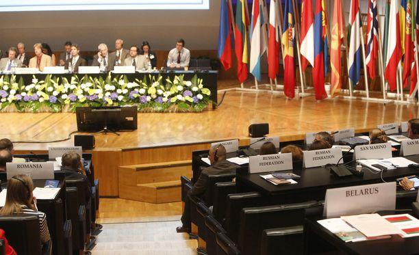 ETYJ:n parlamentaarinen yleiskokous alkoi tänään iltapäivällä Helsingissä.