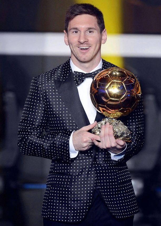 Lionel Messi vastasi urheilugaalan näyttävimmästä tyylistä.