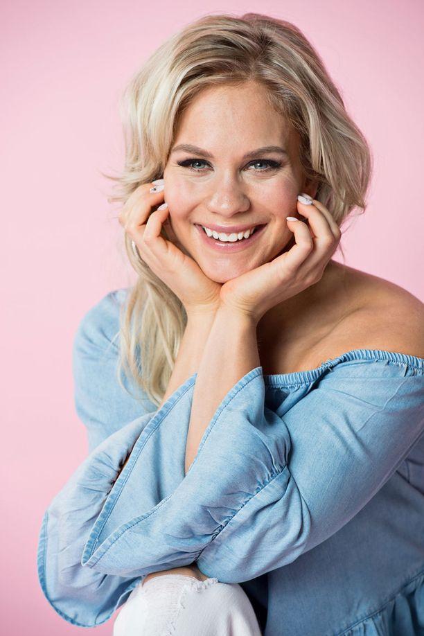 Eevi Teittinen oli keväällä mukana Tanssii tähtien kanssa -kilpailussa.