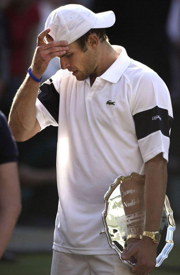 Pettynyt USA:n Andy Roddick