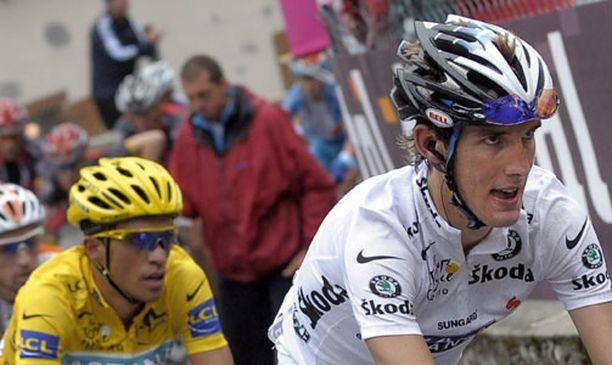 Luxemburgilaispyöräilijä Andy Schleck joutuu tekemään hurjasti töitä päihittääkseen vielä Espanjan Alberto Contadorin Tour de Francessa.
