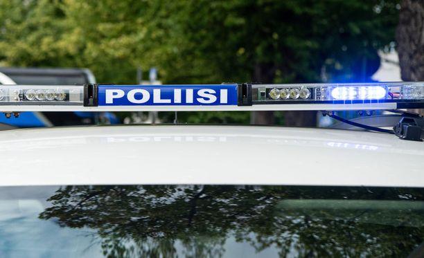 Poliisilla oli operaatio Helsingin Vallilassa. Kuvituskuva.
