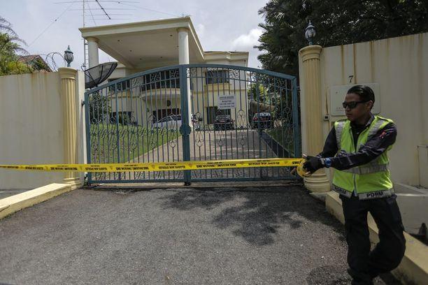 Malesian poliisi sulki viime viikolla pääsyn Pohjois-Korean suurlähetystöön Kuala Lumpurissa.