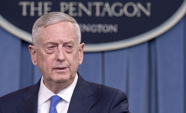 Yhdysvaltain puolustusministerin James Mattisin mukaan Yhdysvallat pyrkii keskittymään diplomatiaan.