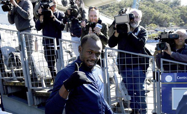 Media oli kiinnostunut jamaikalaistähden edesottamuksista.