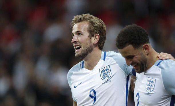 Harry Kane iski Englannin MM-kisoihin.