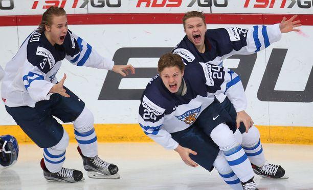 Kasperi Kapanen johdatti Suomen MM-kultaan.