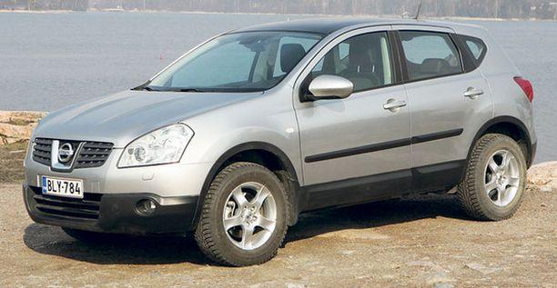 CROSSOVER JYRÄÄ: 58 prosenttia suomessa alkuvuonna myydyistä Nissaneista on ollut Qashqai crossovereita.